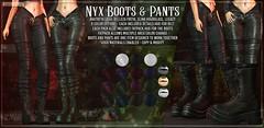 AsteroidBox. Nyx Boots & Pants @ Kustom9
